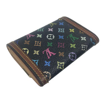 Louis Vuitton Multicolour Monogram Coin/Card Holder Wallet, Black