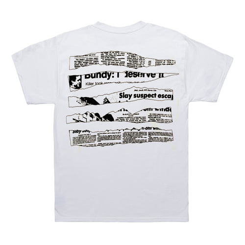 Revenge White Bundy Tee