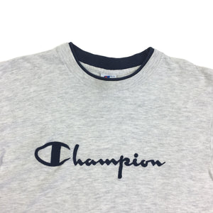 Vintage Champion Embroidered Spellout Tee