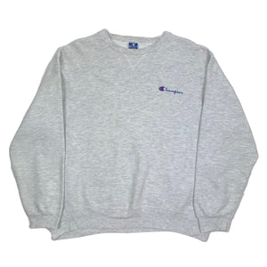 Vintage Champion Embroidered Spellout Crewneck