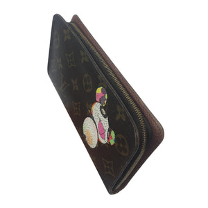 Louis Vuitton x Takashi Murakami Monogram Panda Long Wallet