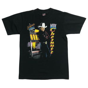 "Vintage Mark Chesnutt ""Longnecks & Short Stories"" Graphic Tee"