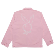 Revenge x Playboy Pink Embroidered Work Jacket