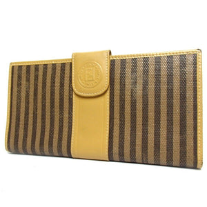 Fendi Pecan Roma Long Wallet
