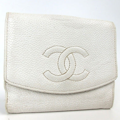 Chanel COCO Mark Double Sided Wallet