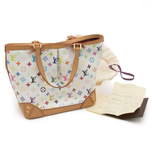 Louis Vuitton Sharleen MM Multicolour Monogram Bag