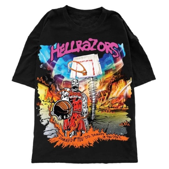 Warren Lotas Hellrazors Hell Court Tee