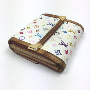 Louis Vuitton Multicolour Monogram Bifold Wallet