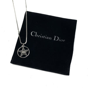 Dior Silver Star Necklace