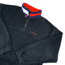 Tommy Hilfiger 1/4 Zip Fleece, Black