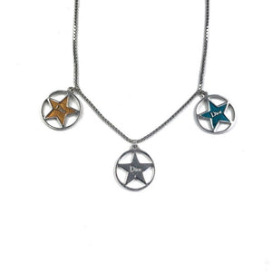 Dior Rare Multicolour Star Charm Necklace
