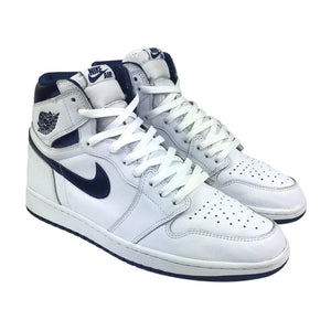 Nike Air Jordan 1 Retro High Metallic Navy