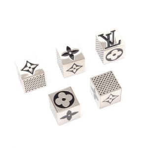 Louis Vuitton Monogram Metal Dice Set