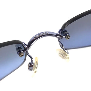 Chanel Blue Tinted Sunglasses