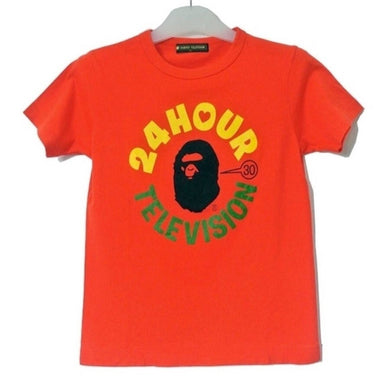 Bape x 24 Hour Television Logo Charity Tee, Limited Edition (M)