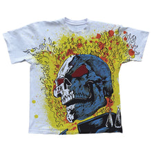 Warren Lotas Ghostrider White T-Shirt