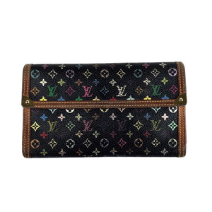 Louis Vuitton Takashi Murakami Multicolour Monogram Long Wallet