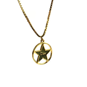 Dior Gold Star Necklace