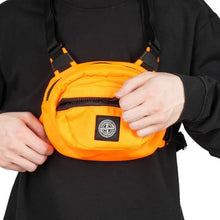 Stone Island Nylon Reps Chest Rig/Bag, Orange