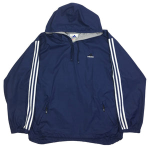 Adidas Hooded Track Jacket / Windbreaker