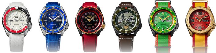 photo of Seiko 5 Sports STREET FIGHTER V Limited Edition