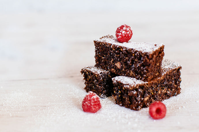 Decadent Lupin Brownies
