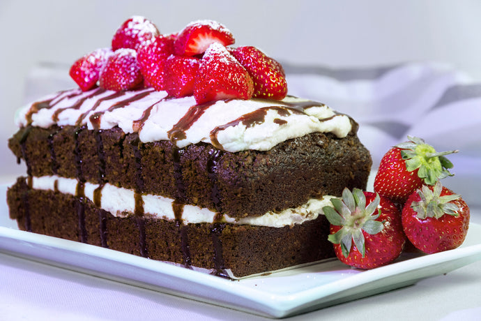 Lupin Vegan Chocolate Cake