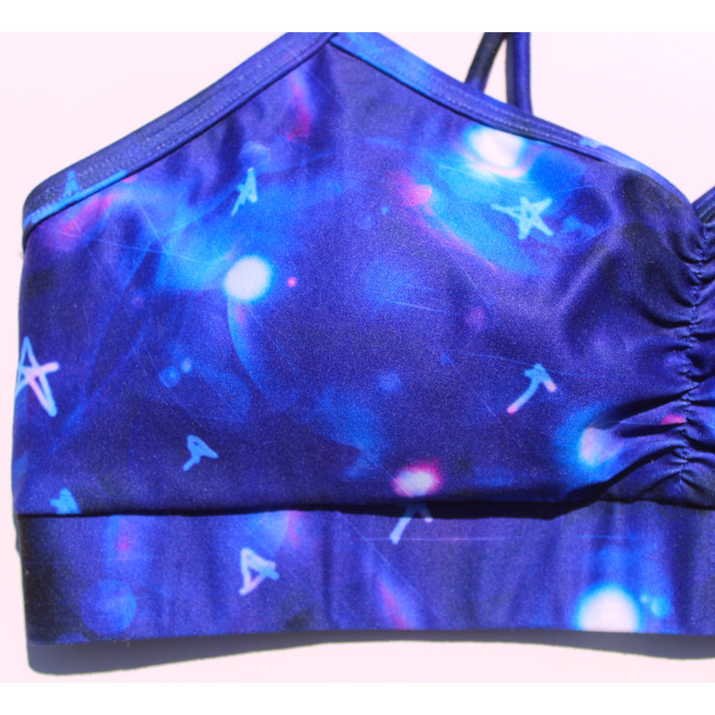 Star Recycled Plastic Yoga Bra