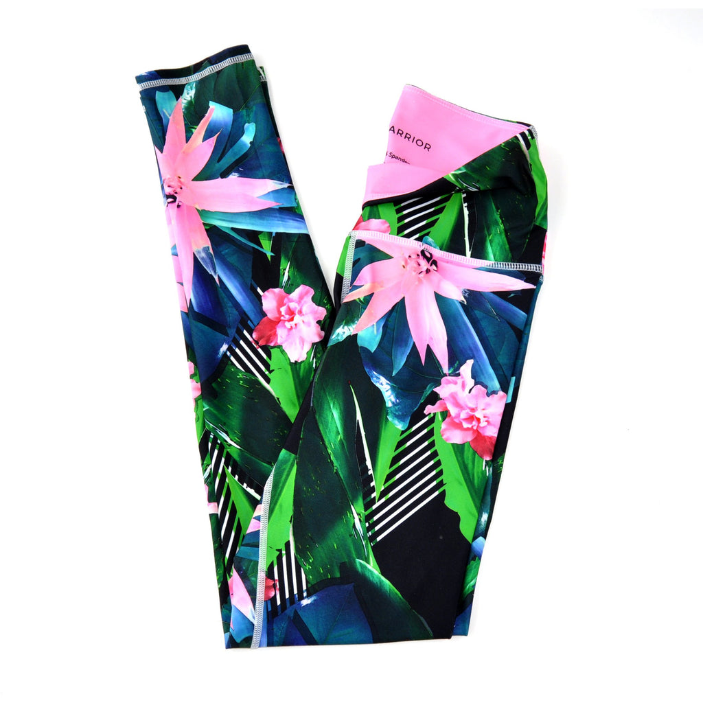 Tropical Recycled Plastic Women's Printed Leggings