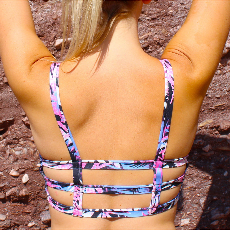 Palm Recycled Plastic Yoga Bra