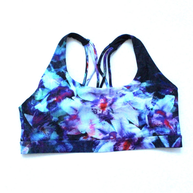 Orchid Recycled Plastic Sports Bra