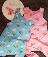 ready to post 3-6 months blue and pink available