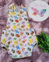 summer romper -  cutie crawlies
