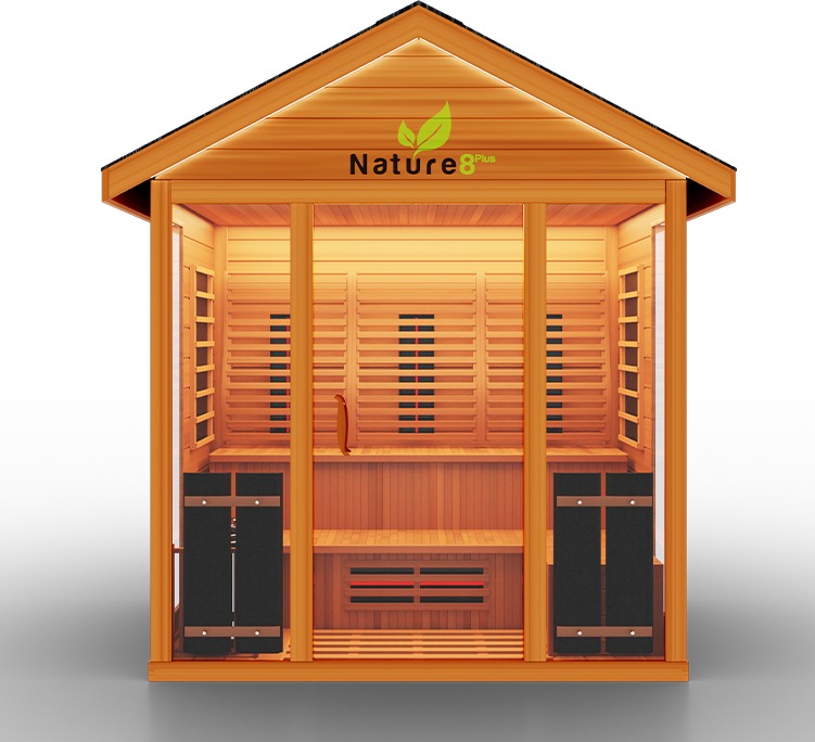 Bella Sauna Outdoor Medical Sauna Nature 8