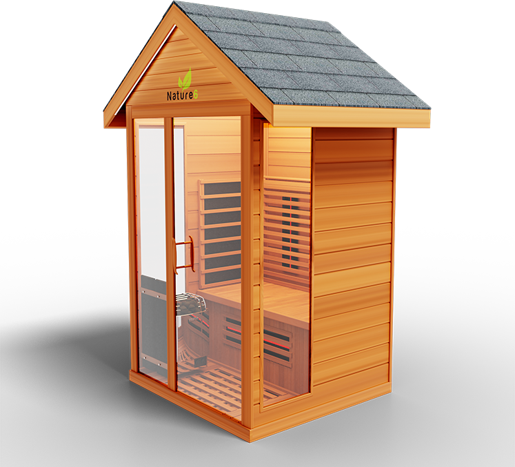 Bella Sauna Outdoor Medical Sauna Nature 6