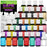 36 Color Food Coloring Liqua-Gel Ultimate Decorating Kit Primary, Secondary and Neon Colors ? Food Grade, 0.75 fl. oz. (20ml) Bottles, Non-Toxic