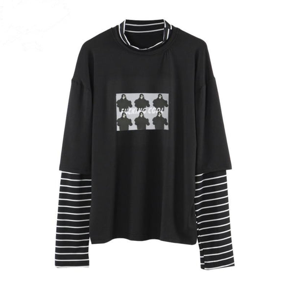 F 'ing Cool Long Sleeve Shirt - Threads Unknown