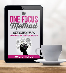 The ONE FOCUS Method eBook (PDF)