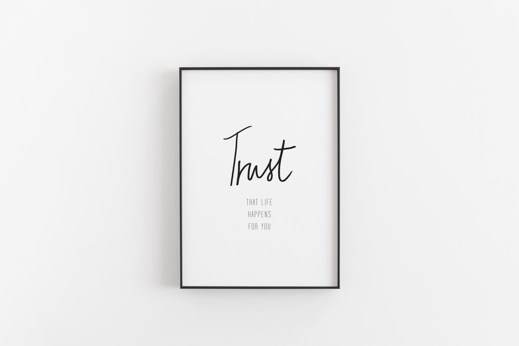 """REMINDFUL ART"" TRUST Poster"