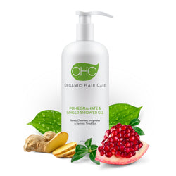 Pomegranate & Ginger Shower Gel - Organic Hair Care Inc