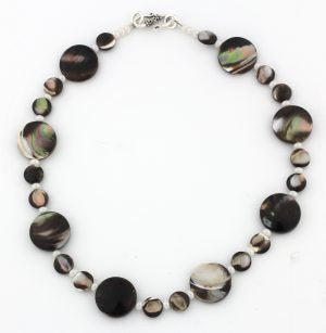 Mother of Pearl & Pearls Necklace