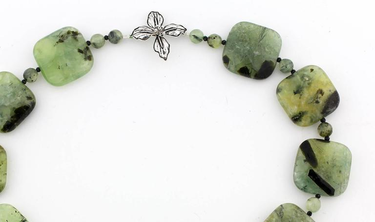 Brasilian Prehnite Necklace