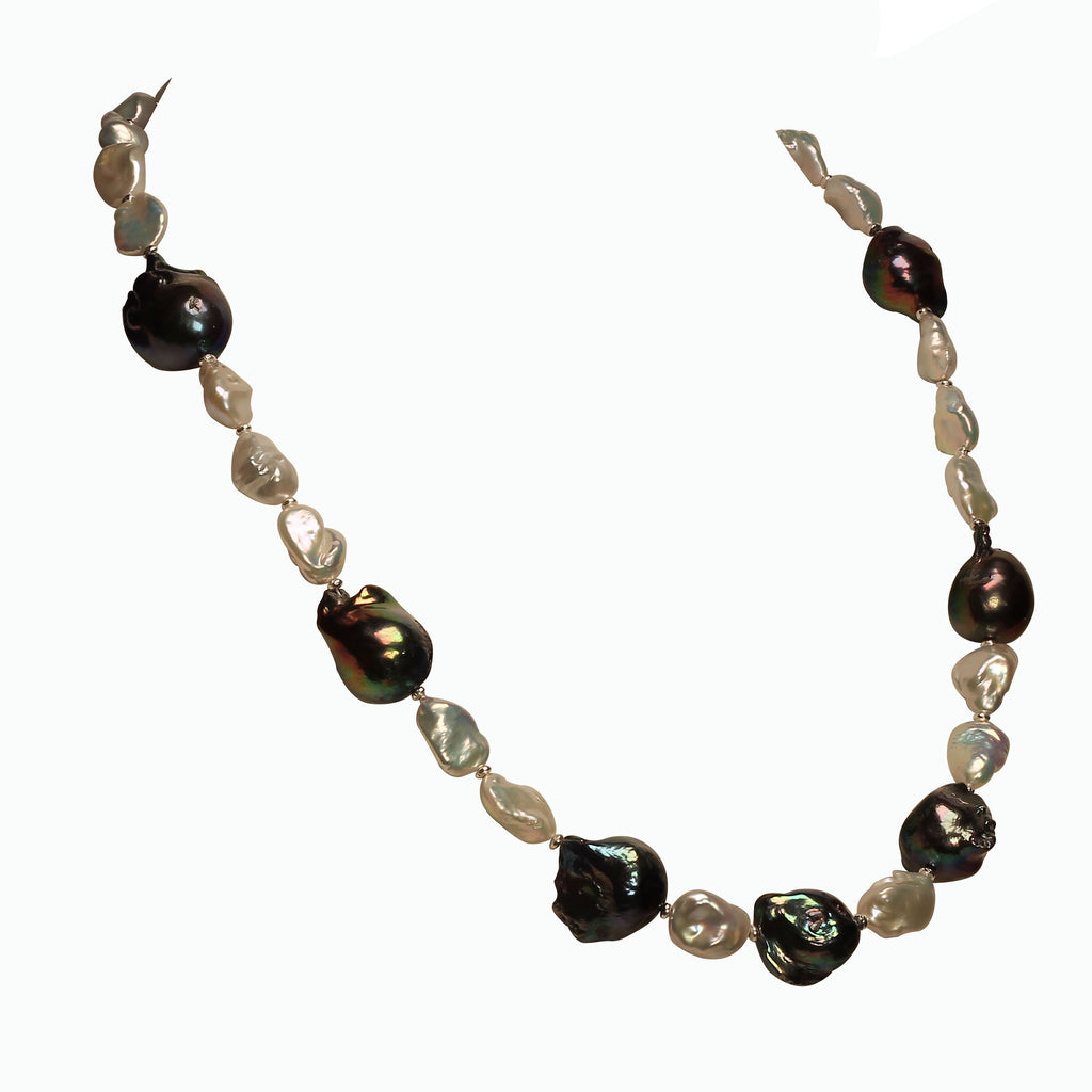 Gemjunky Pearls and More Pearls Elegant 21 inch necklace