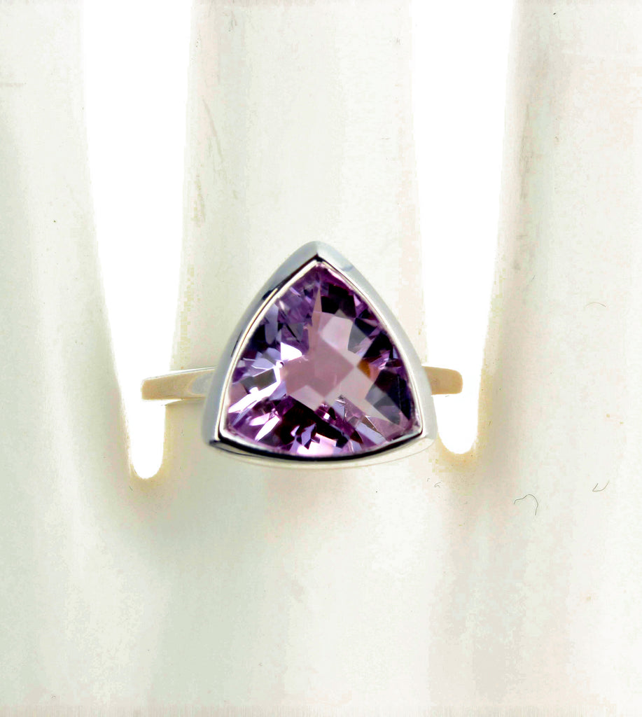 Rose of France 7 Carat Amethyst Ring