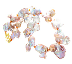 Unique Glorious Baroque Pearl Necklace