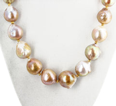 Goldy Cultured Pearl Necklace