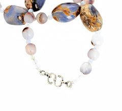 Chalcedony, Chalcedony, and Chalcedony Necklace