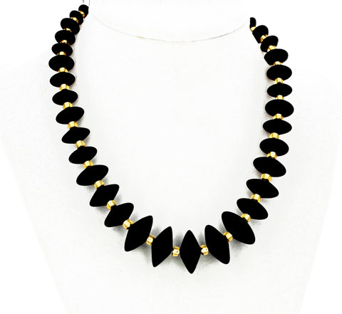 Handmade Black Onyx Necklace