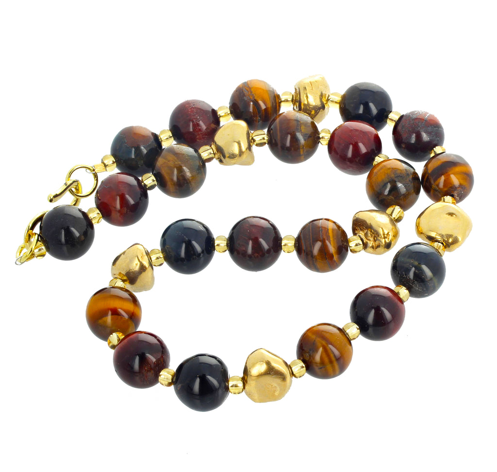 Goldy Tiger Eye Necklace