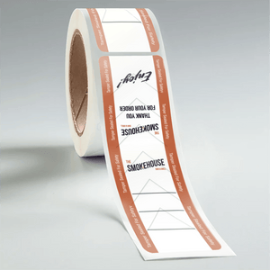 Rectangle Tamper Evident Food Labels